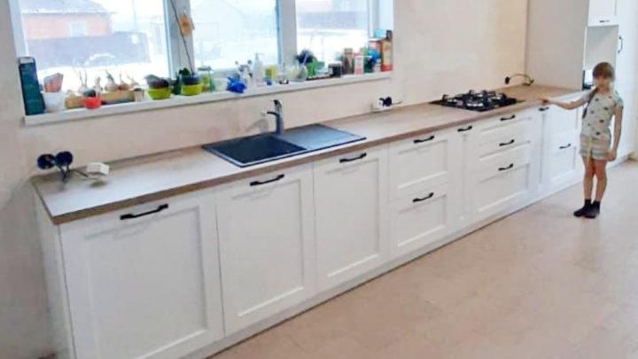 кухня в новом доме